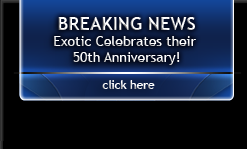 Exotic: 50 Years Making It In Detroit Logo