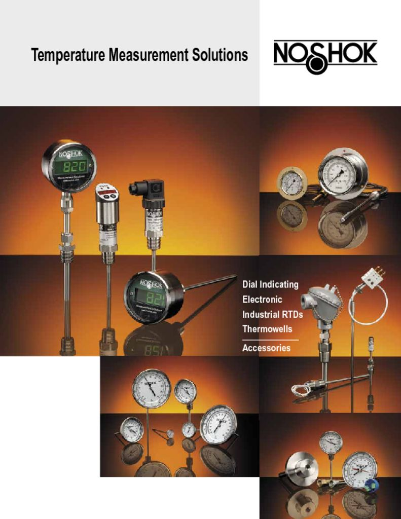 NOSHOK Temperature Measurement Solutions