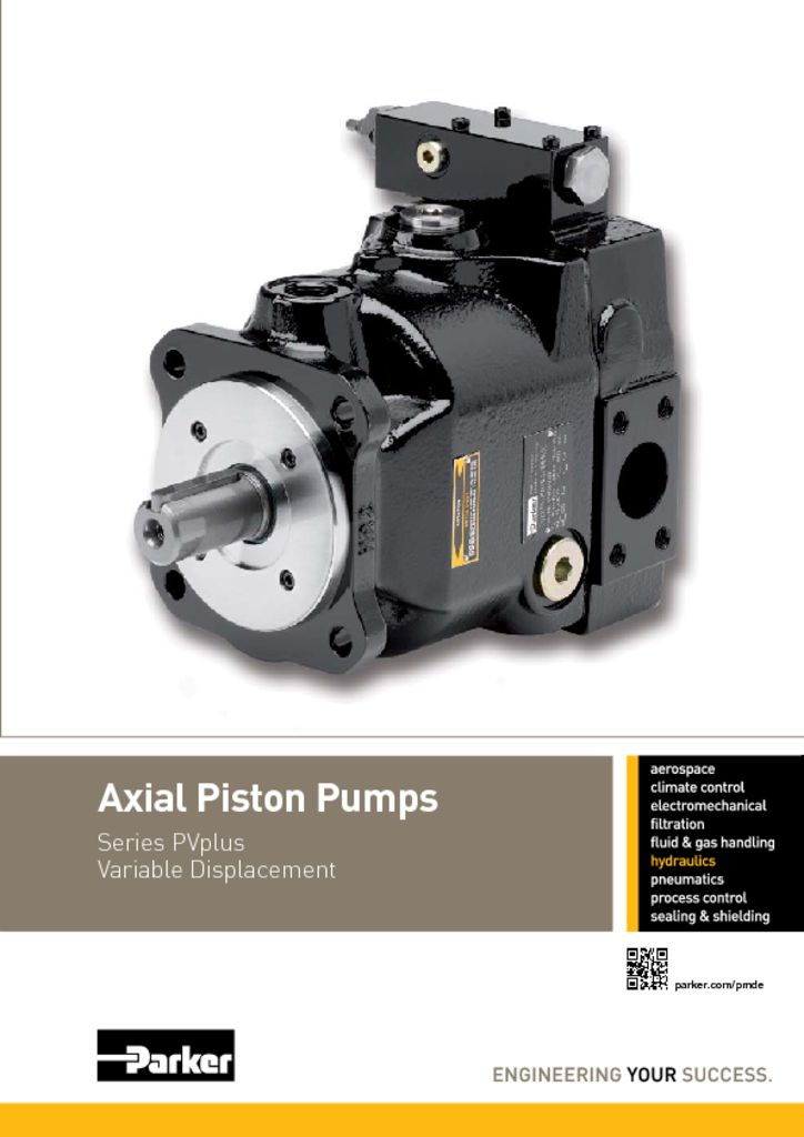 Parker Axial Piston Pumps – HY30-3245 UK