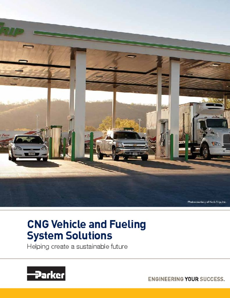 Parker CNG Vehicle and Fueling System Solutions 4660 – CNG Alt Fuel