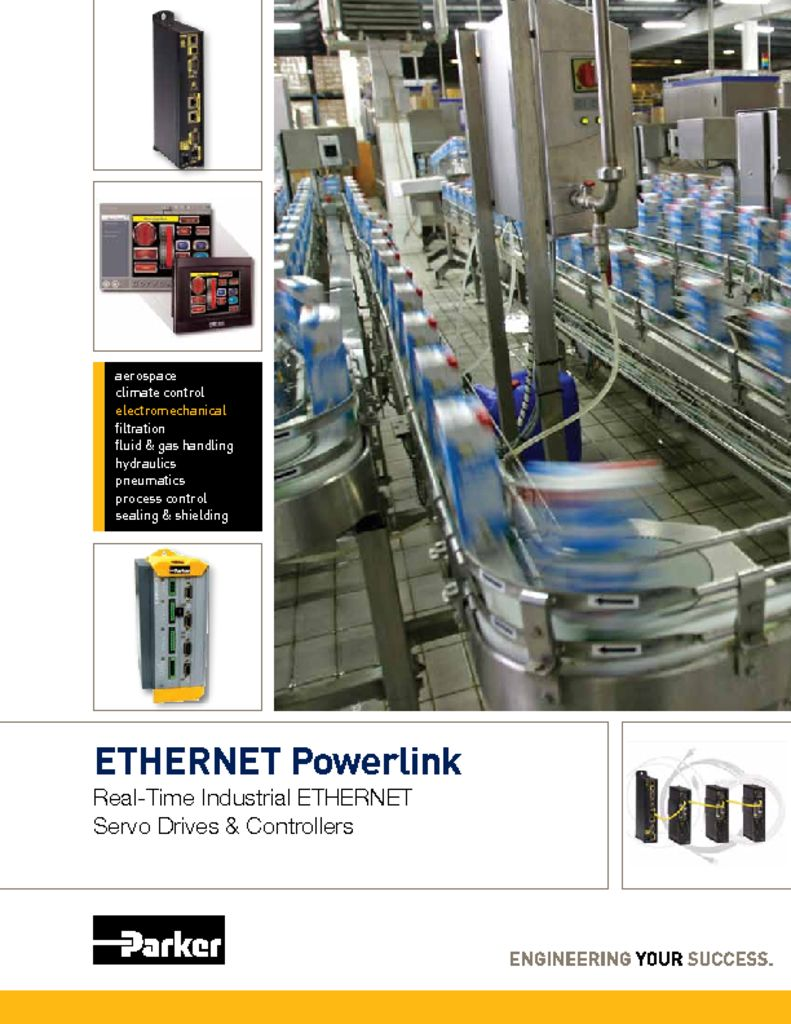 Parker ETHERNET Powerlink (EPL) Brochure
