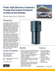 Parker Finite High Efficiency Coalescers Brochure MAP-CNG