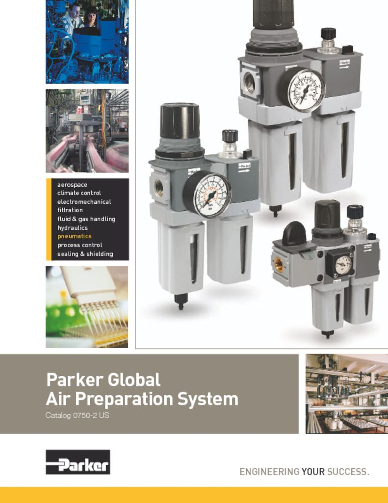 Parker – Global Air Preperation System – Catalog 0750-2 US