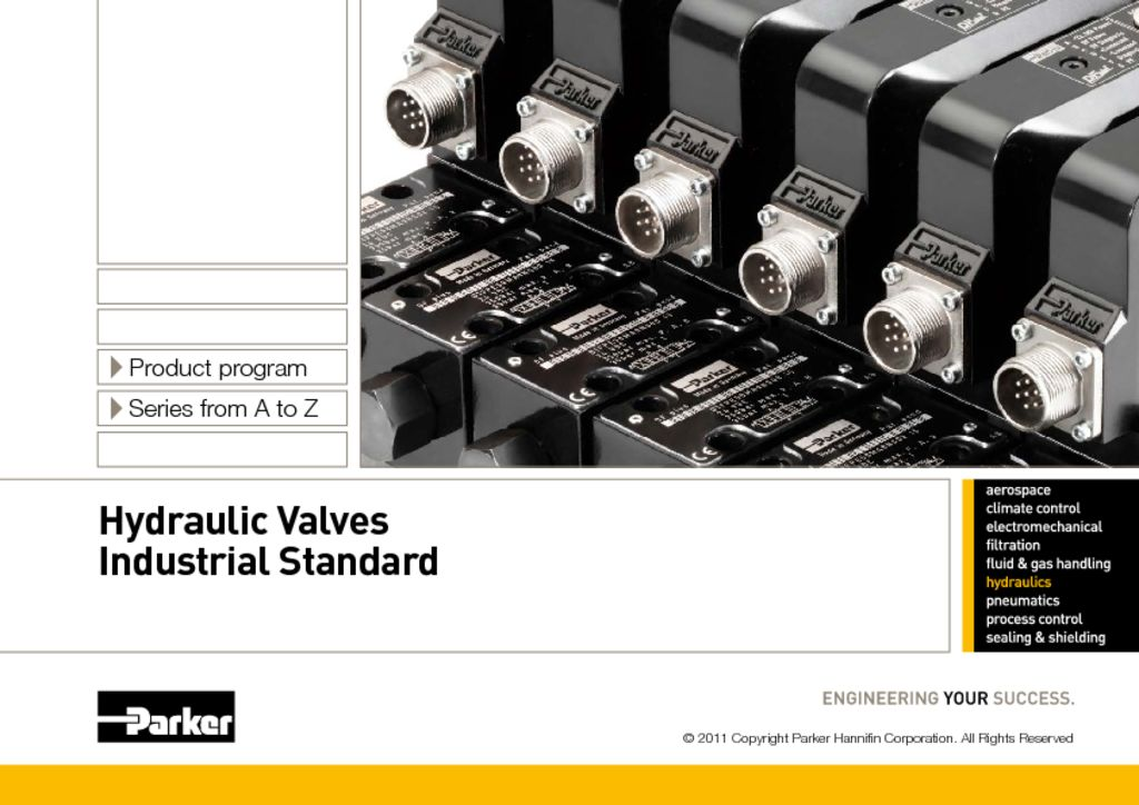 Parker HY11-3500UK – Hydraulic Valves Industrial Standard