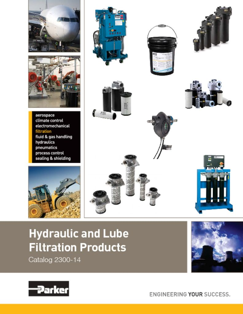 Parker Hydraulic and Lube Filtration Products 2300-14