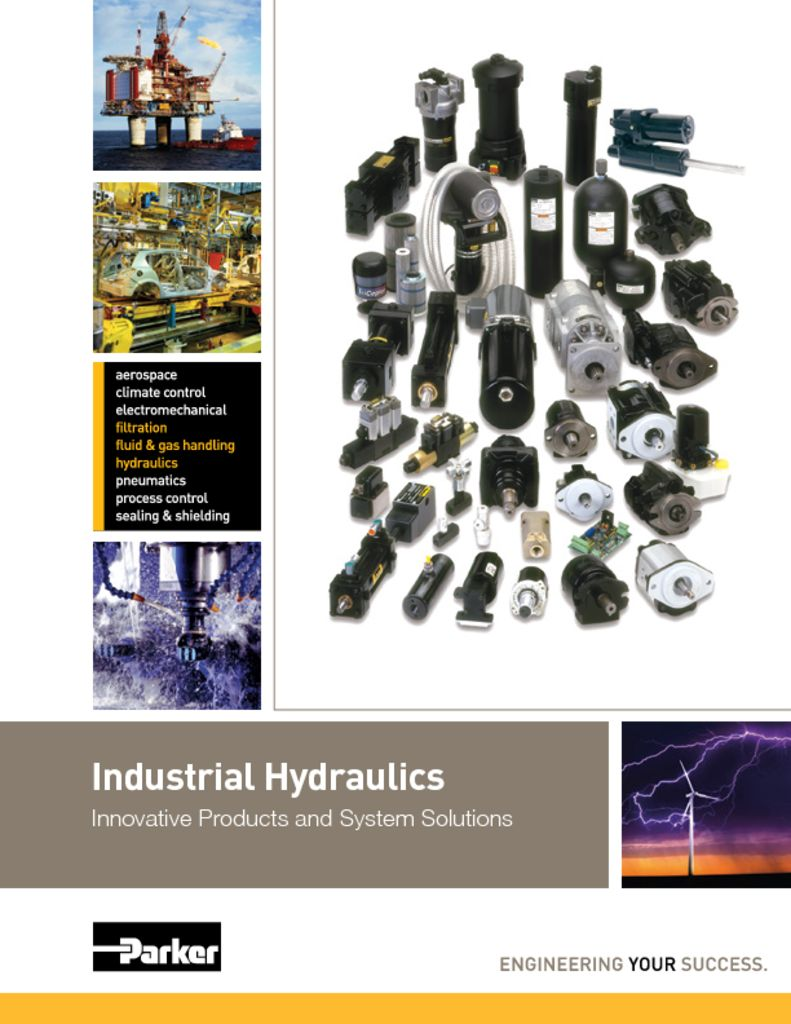 Parker Industrial Hydraulics – Innovative Products and System Solutions Catalog