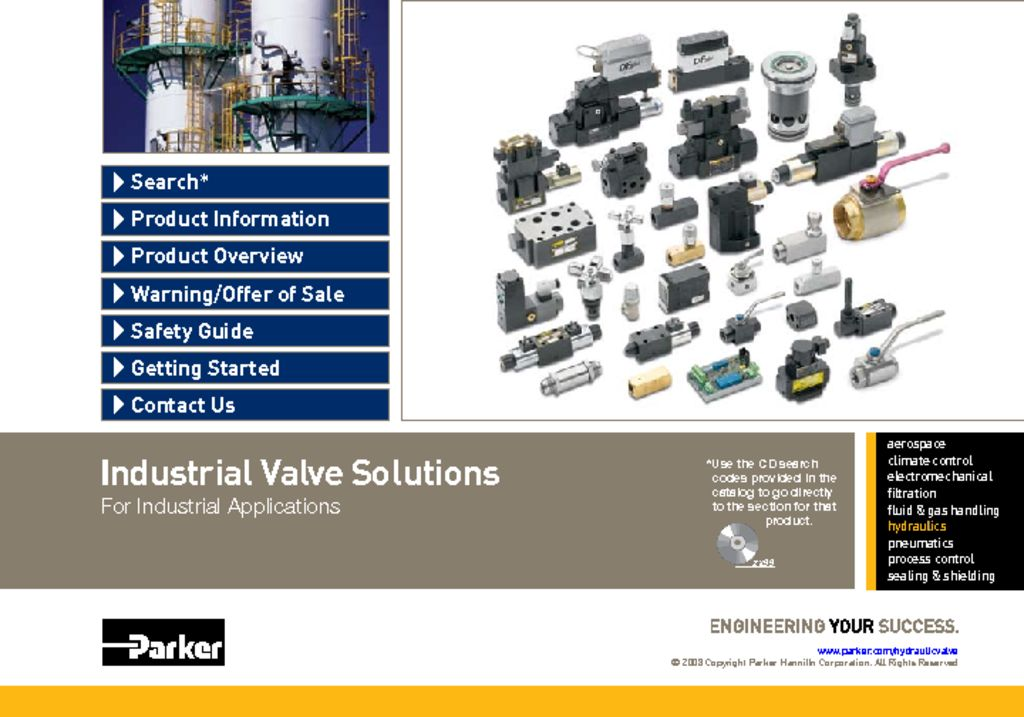 Parker Industrial Valve Solutions HY14-2530