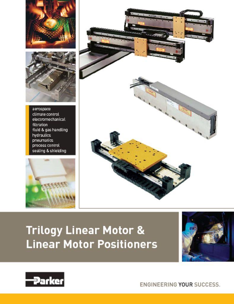 Parker Trilogy Linear Motor & Linear Motor Positioners
