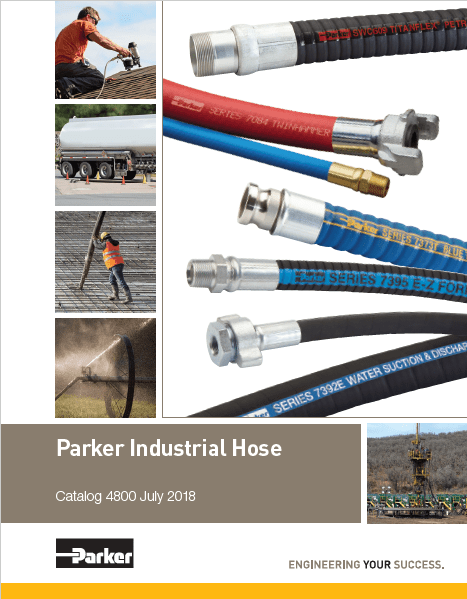 Parker Industrial Hose Catalog 4800 July 2018