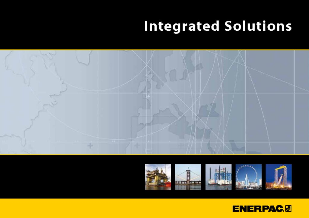 Enerpac Integrated Solutions Capabilities Booklet