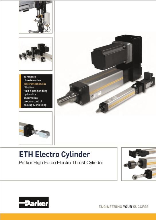Parker ETH Electro Cylinder Parker High Force Electro Thrust Cylinder