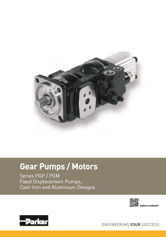 Parker Gear Pumps Motors – HY30-3300-UK