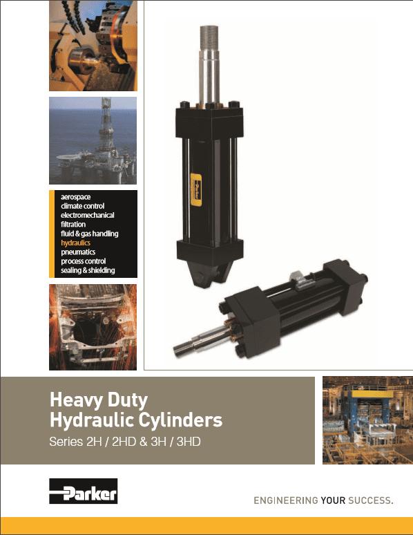 Parker Heavy Duty Hydraulic Cylinders HY08-1114