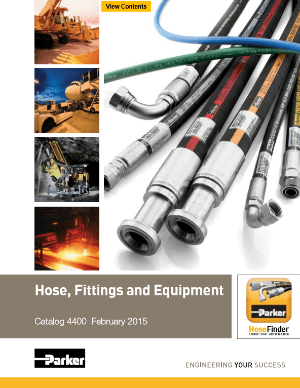 Parker Hose, Fittings, and Equipment Catalog 4400 February 2015