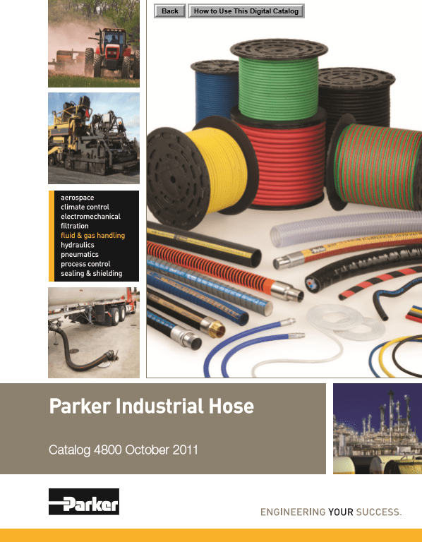 Parker Industrial Hose Catalog 4800 October 2011