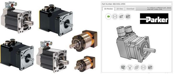 Try Parker's New Servo Motor Drawing Tool