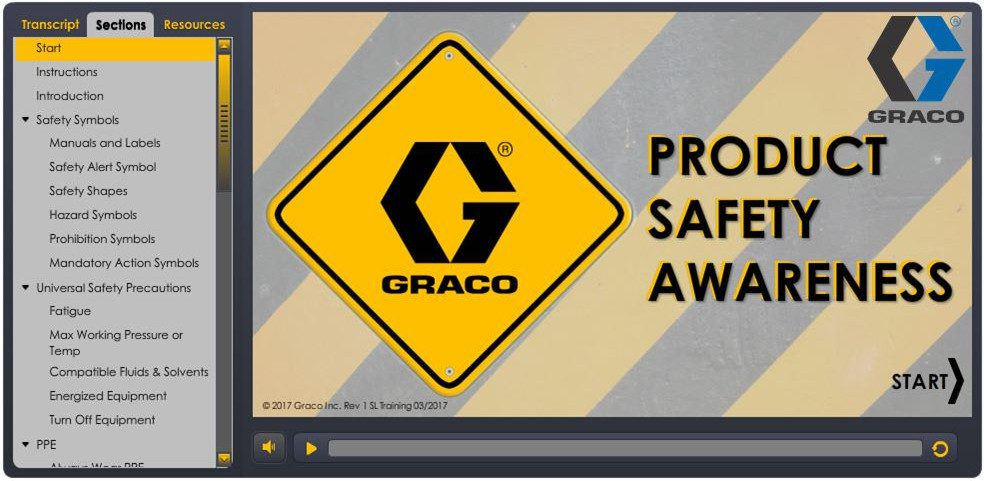 Graco University Product Safety Training