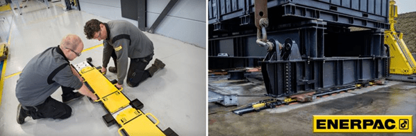 Enerpac Low-Height Skidding System