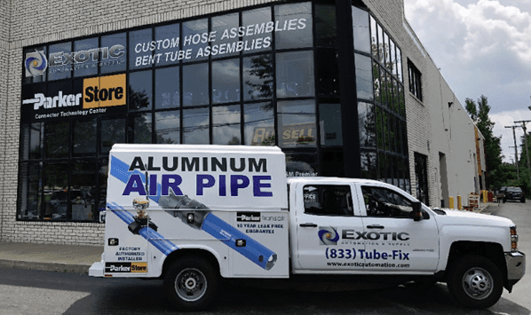 New! 24/7 Mobile Aluminum Pipe Installation Van