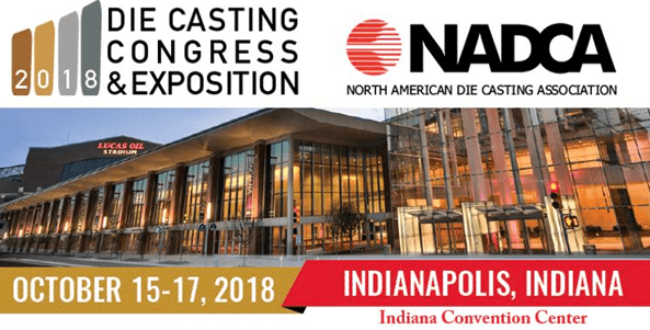 Exotic Automation & Supply to Exhibit at the 2018 Die Casting Congress & Exposition