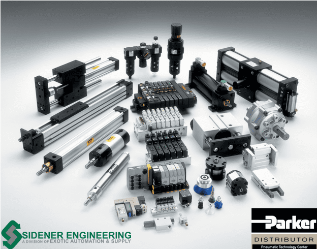 Sidener Engineering Authorized as Full-Line Parker Hannifin Pneumatic Distributor