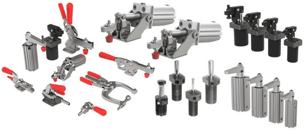 Manual & Pneumatic Clamps