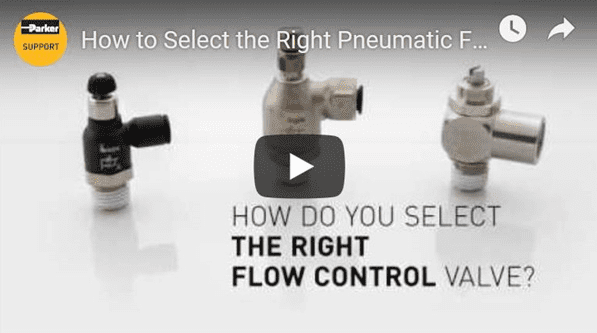 How to Select the Right Pneumatic Flow Control