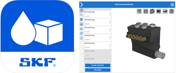 Download SKF's LubCAD App