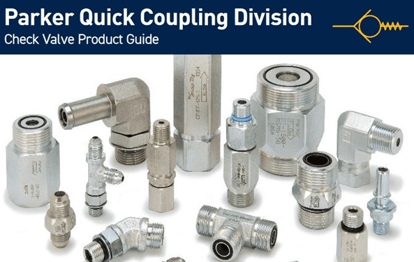 Parker's New Product Guide Featuring Check Valves