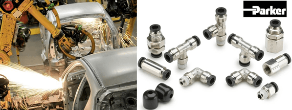 Parker Launches NEW PrestoWorld Push-to-Connect Fittings