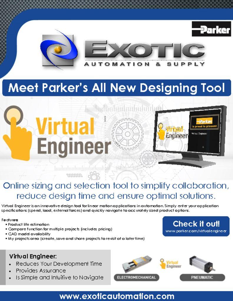 Parker Virtual Engineer