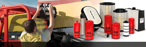Baldwin Filtration for Heavy-Duty Construction Equipment