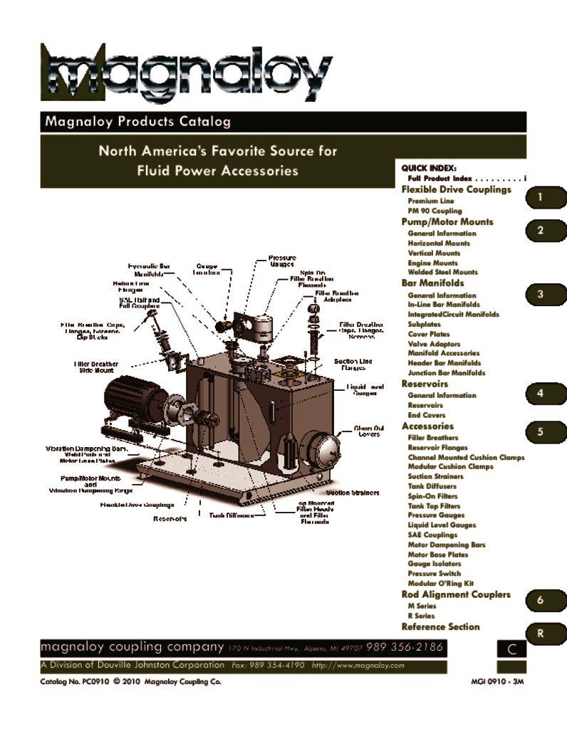 Magnaloy Product Catalog