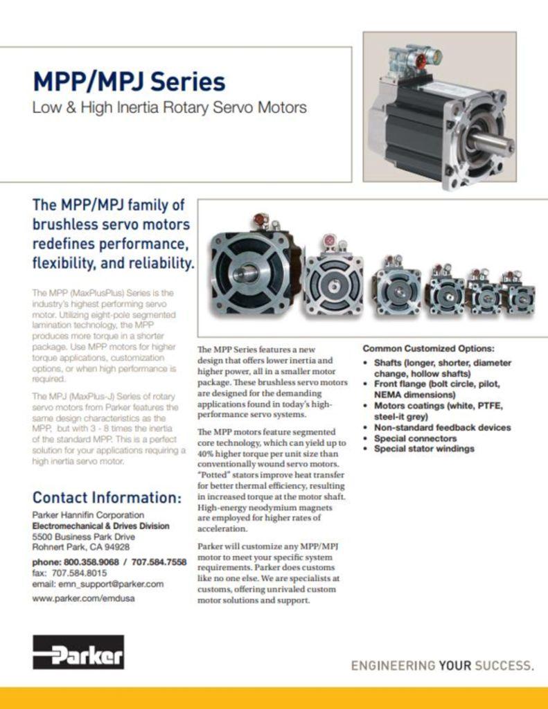 Rotary & Linear Servo Motors