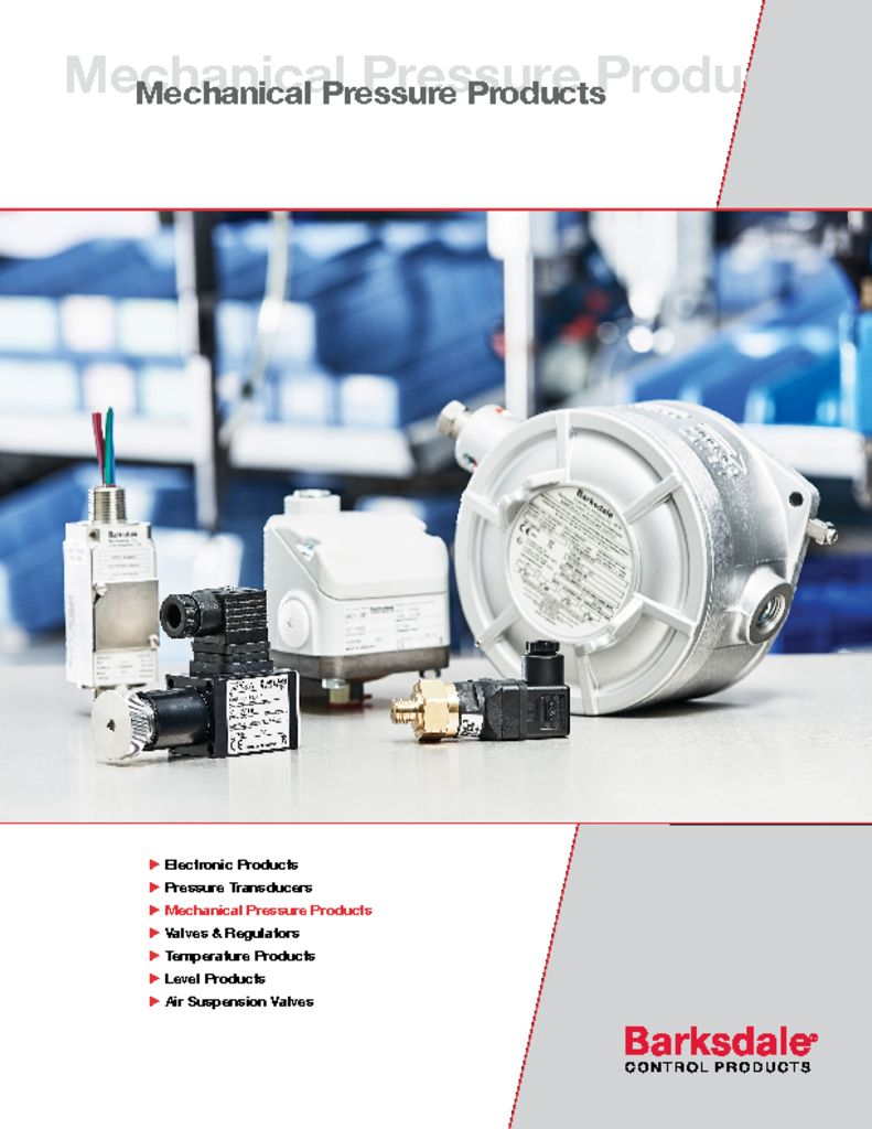 Mechanical Pressure Products