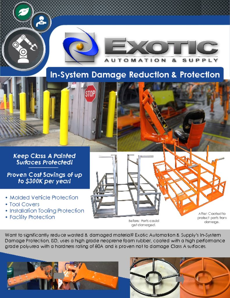 In System Damage Protection Price Sheet