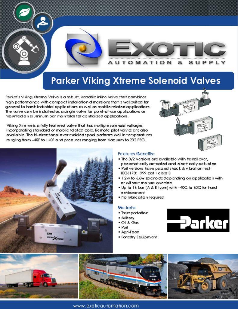 PDN Viking Xtreme Series Valve