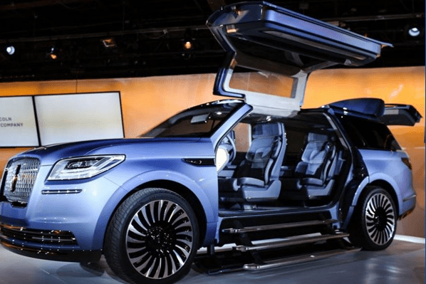 Futuristic Auto Show Project Requires ACE Gas Springs