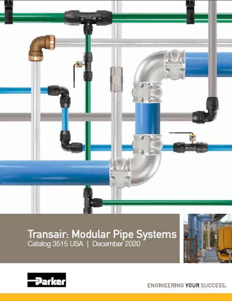 Transair: Modular Pipe Systems