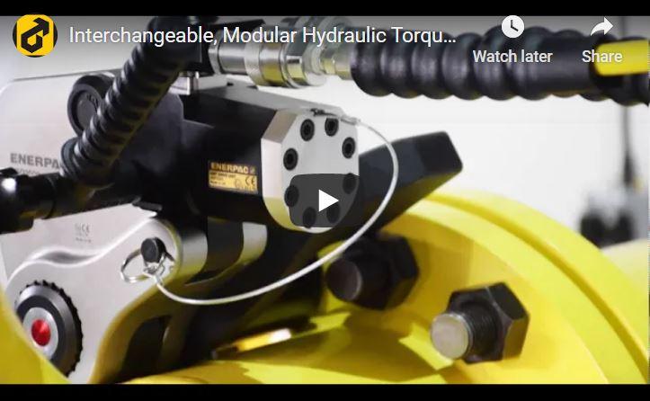 Enerpac HMT-Series Modular Hydraulic Torque Wrench