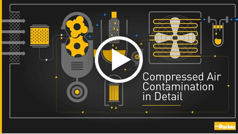 Watch Compressed Air Contamination in Detail