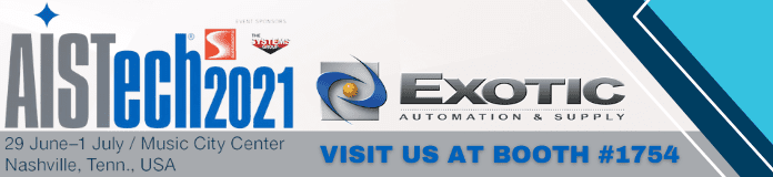 Visit Us at The 2021 AISTech Iron & Steel Show!