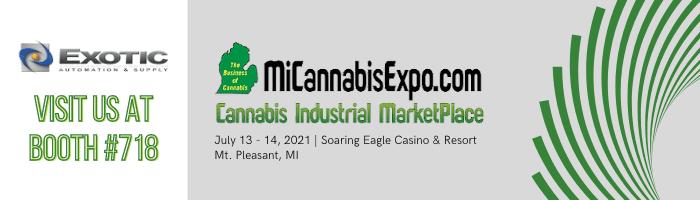 Visit Us at The Michigan Cannabis Expo