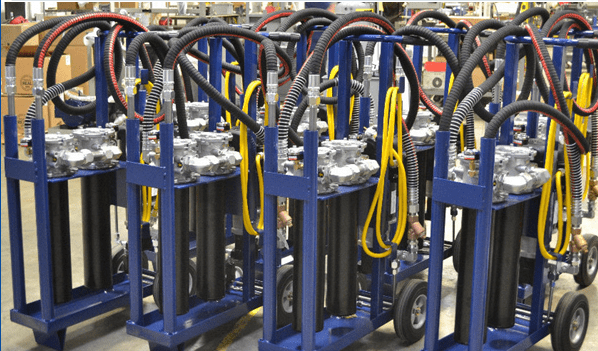Custom Filter Carts for Hydraulic Systems