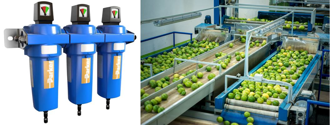 Parker Filters for Food Contact Applications