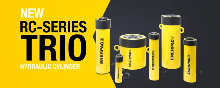 Upgraded RC-Series Hydraulic Cylinders