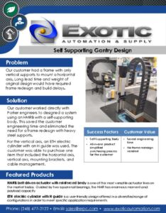 thumbnail of Self Supporting Gantry Design