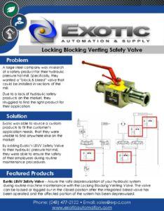 thumbnail of LBVV Safety Valve Case Study