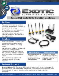 thumbnail of SensoNODE Starter Kit Case Study