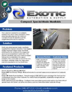 thumbnail of Compact, Special Made Manifolds Case Study
